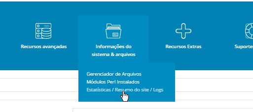 Painel_de_Controle_ DirectAdmin_Estatisticas